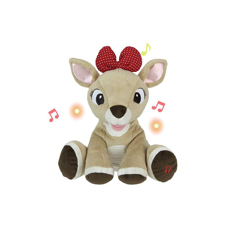 Rudolph the Red-Nosed Reindeer® Light Up Musical Clarice Stuffed Toy