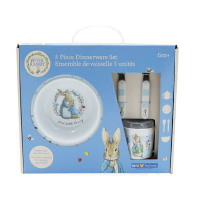Peter Rabbit™ 5-Piece Melamine Dish Set