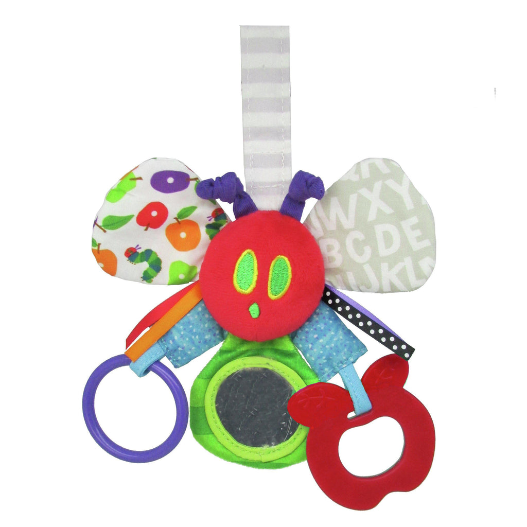 The World of Eric Carle™  Mirror Teether Rattle Caterpillar
