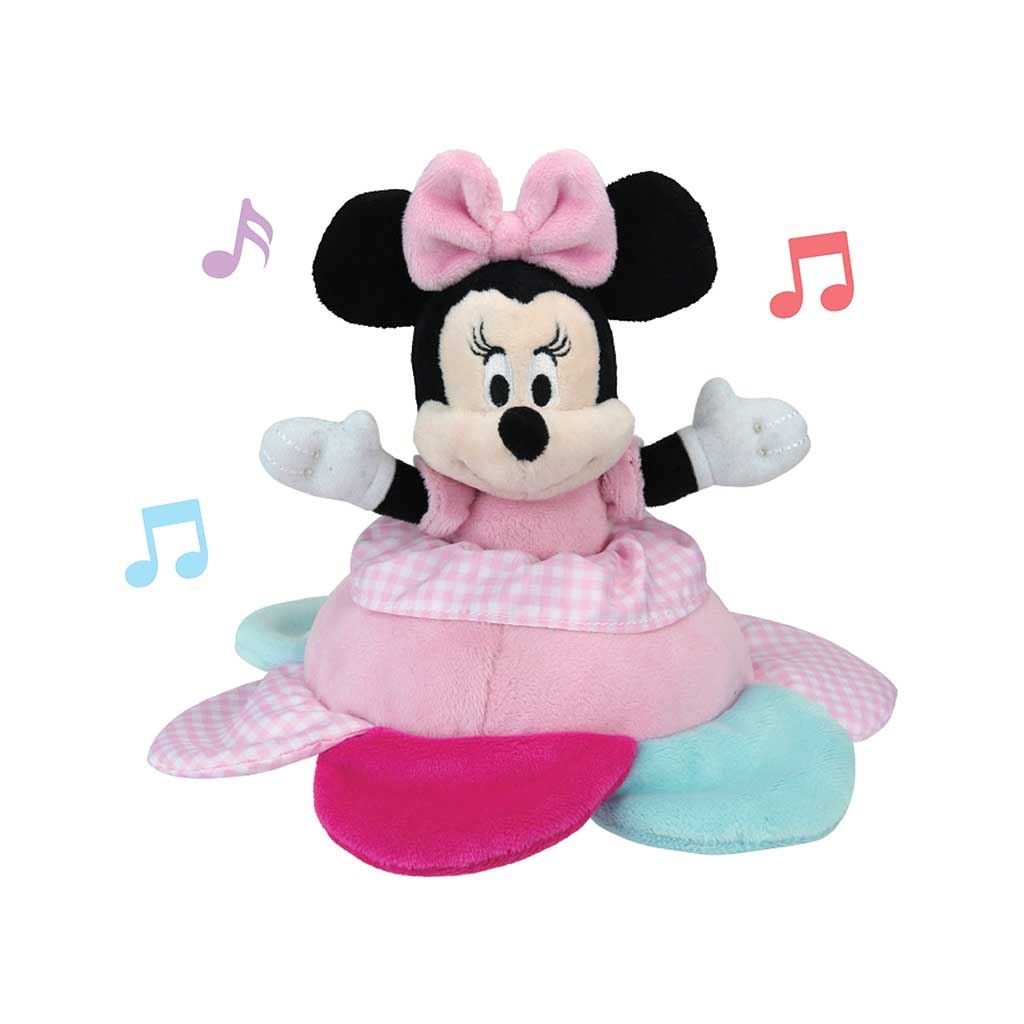 Disney Baby™ Minnie Mouse Key Wind Musical Soft Toy