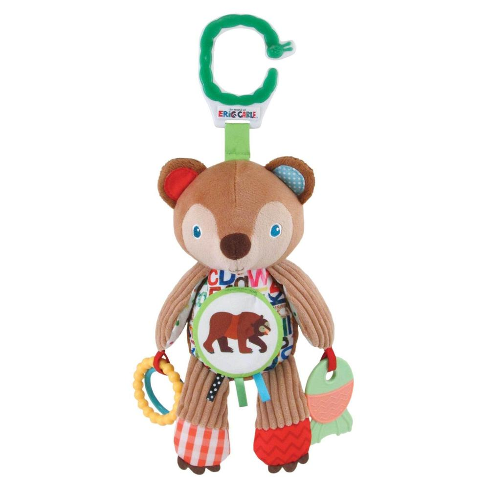 The World of Eric Carle™ Brown Bear On-The-Go Activity Toy from Kids Preferred 081787968042 96804