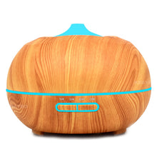 Load image into Gallery viewer, Aroma Diffuser Aromatherapy Wood Grain Humidifier