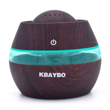 Load image into Gallery viewer, FREE 300ml Aromatherapy Essential Oil Diffuser Portable For Car - Wood Grain