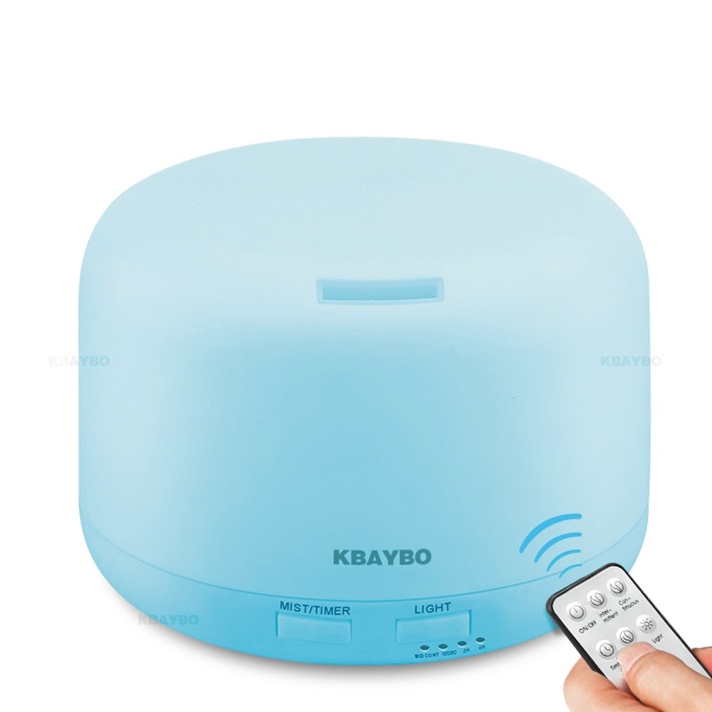 300ML Ultrasonic Air Aroma Humidifier With Color Lights with Remote Control