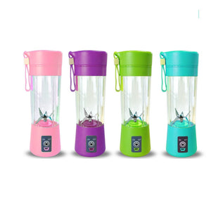 Six Blades 400ml Portable Juice Blender Juicer Cup Fruit Mixer