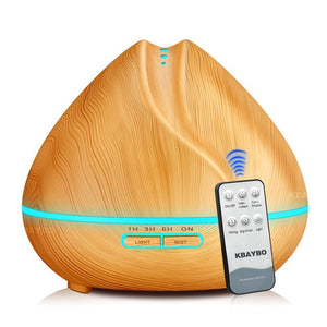 Remote Control Essential Oil Diffuser Air Humidifier Aromatherapy Lamp