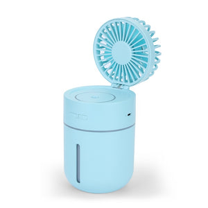 Portable USB Fan Flexible with Air Diffuser Adjustable Cooler Mini Fan Handy