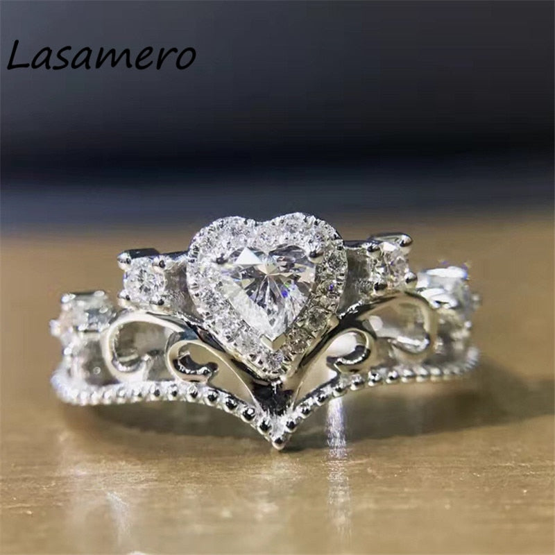 White Gold Natural Diamond Ring