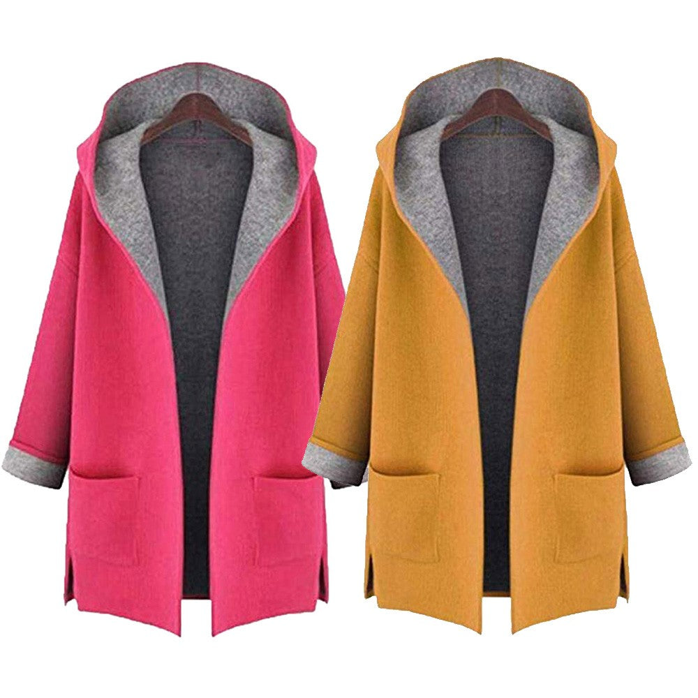Women's Jacket Front Open Coat