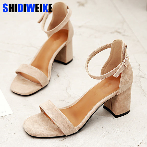Cute Sandals Office High Heels Shoes