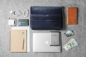COMMUTER FOLIO - leather