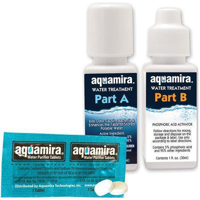 Water Purification Tablets & Drops