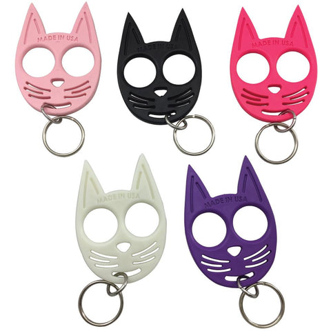 My Kitty Plastic Self-Defense Keychain Weapon Pink