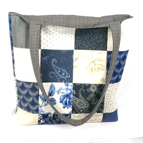 Nautical Pier Point Tote Bag - TLC Patterns