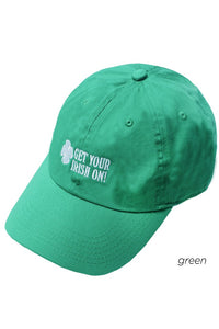 LCAP22170 - Get Your Irish On Embroidery Baseball Cap