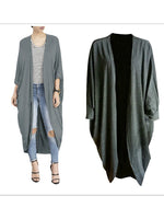Women Winter Fashion Cardigan Casual Loose Topcoat
