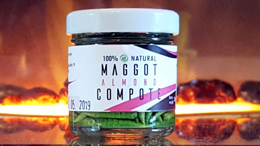 Jarred Maggots 40ml in 10 Flavours
