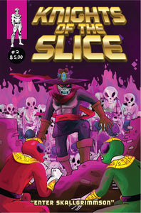 Knights of the Slice: Digital Comic Book