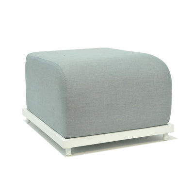 quality outdoor upholstered ottoman by skyline design