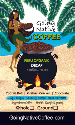 Peru Organic Swiss Water Decaf