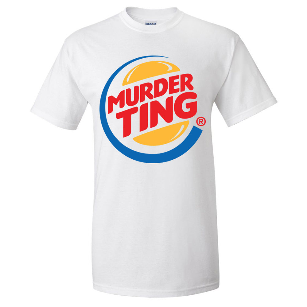 Murder Ting T-shirt (White) [SALE]