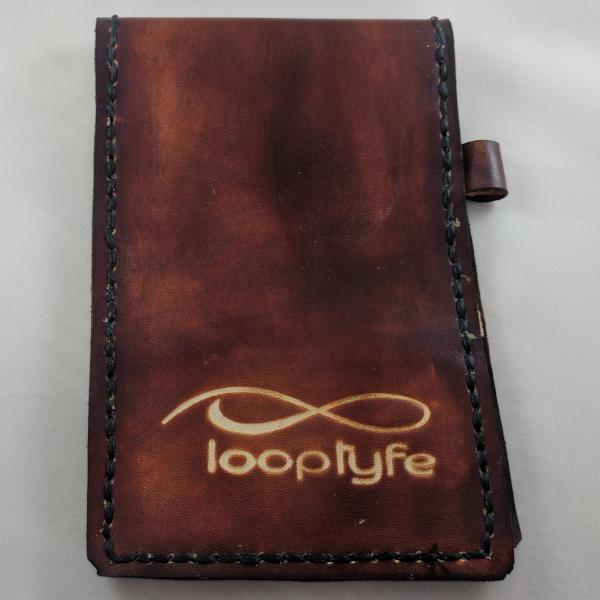 Leather Scorecard Holder Front