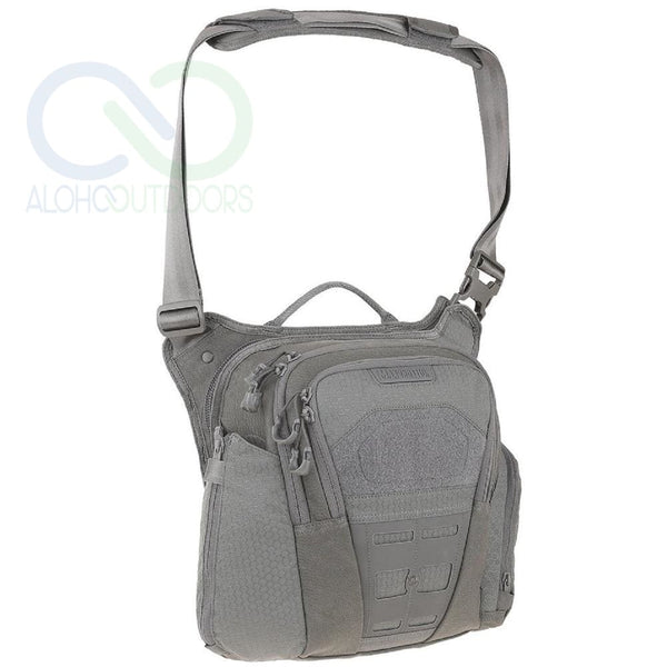 Maxpedition Veldspar Crossbody Shoulder Bag 8L Gray