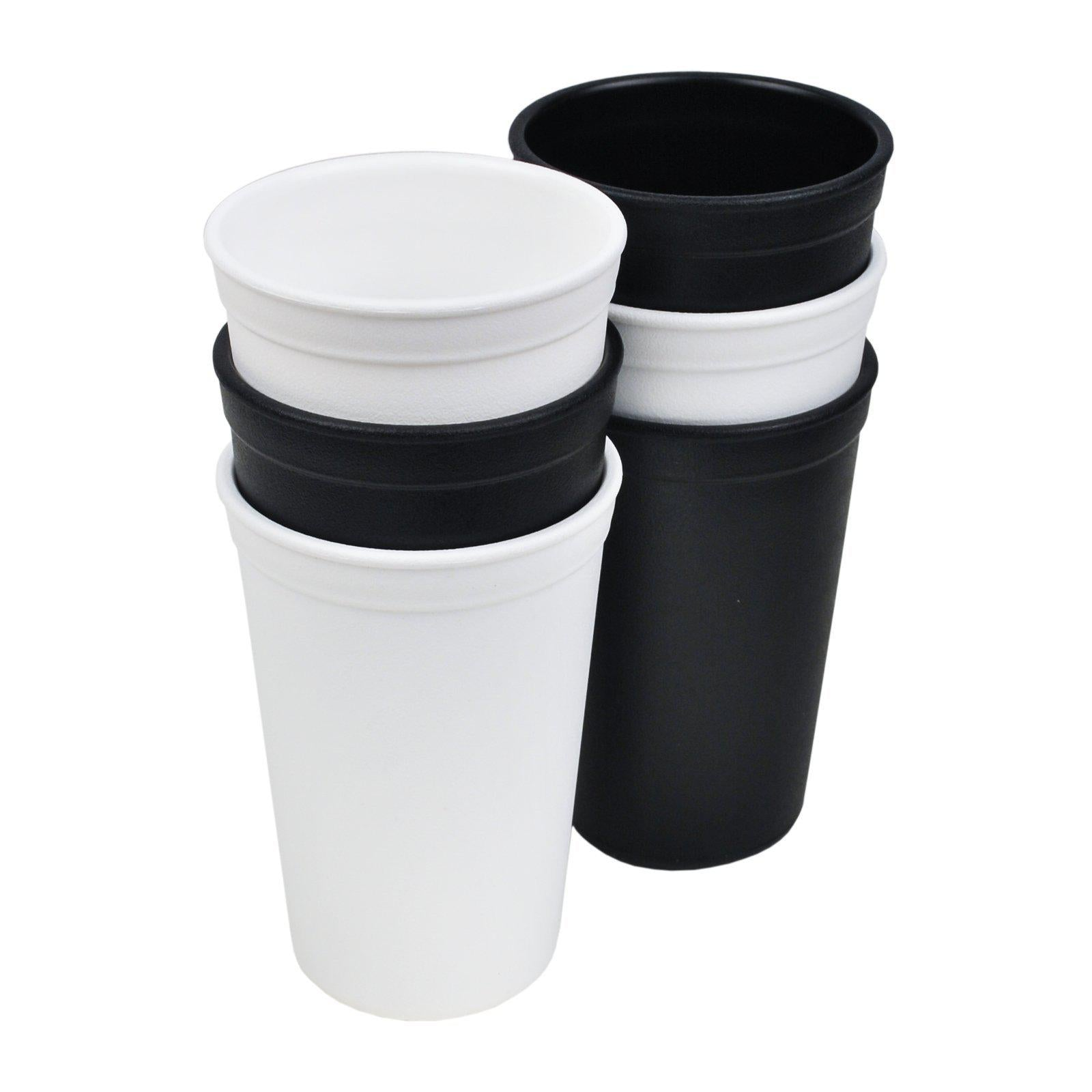Replay 6 Piece Monochrome Set - Tumbler Drinking Cups-Dinnerware-BabyDonkie