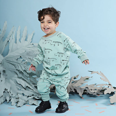 Kapow Kids Crocodile Sweater-Clothing-BabyDonkie
