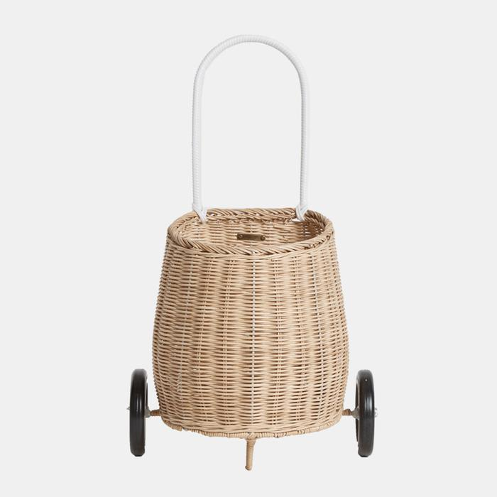 Olli Ella Luggy Basket - Straw-Storage-BabyDonkie