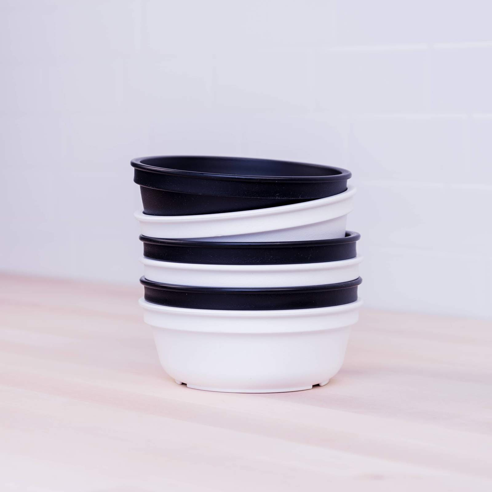 Replay 6 Piece Monochrome Set - Bowls-Dinnerware-BabyDonkie