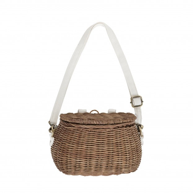 Olli Ella Minichari Bag - Natural-Storage-BabyDonkie
