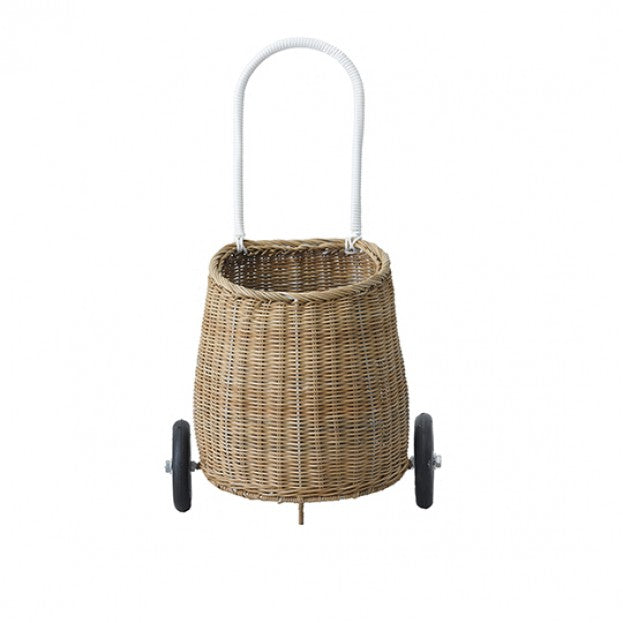 Olli Ella Luggy Basket - Natural-Storage-BabyDonkie