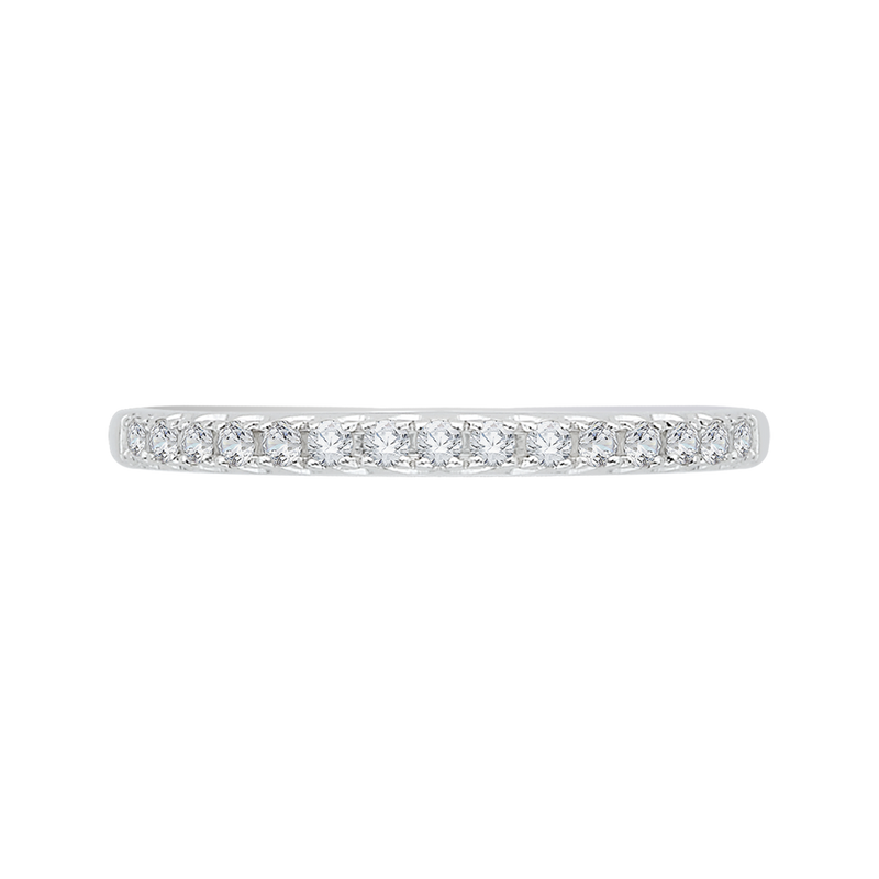 CA0058B-37W Bridal Jewelry Carizza White Gold  Diamond  Wedding Bands