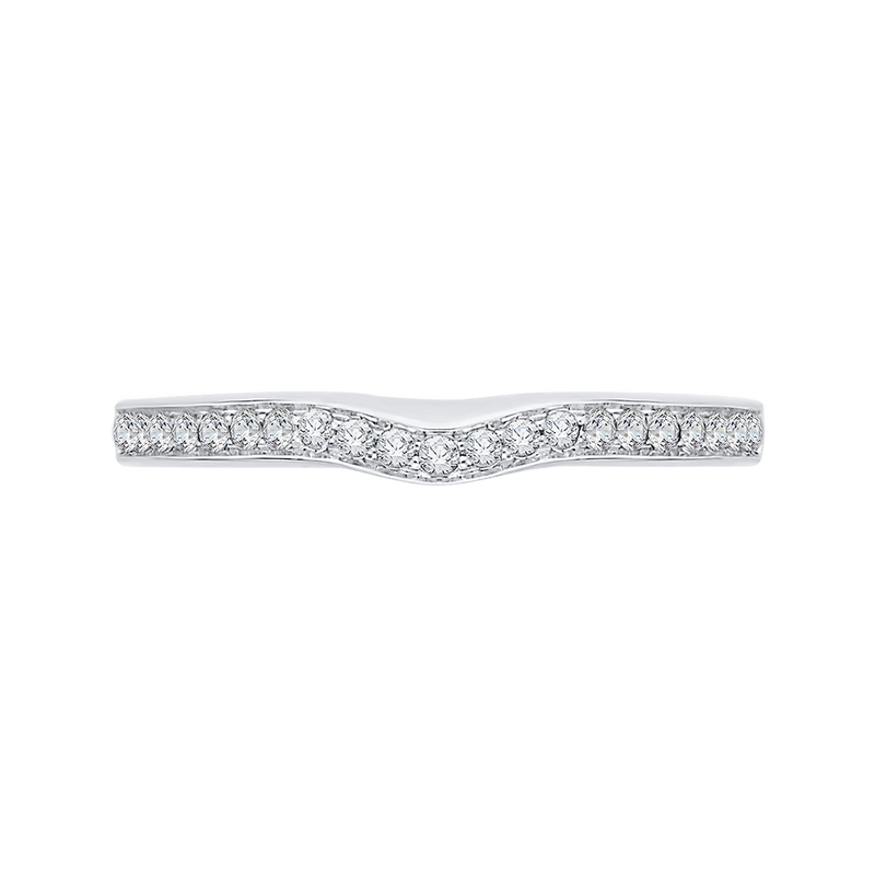 CA0159BH-37W-1.50 Bridal Jewelry Carizza White Gold  Diamond  Wedding Bands