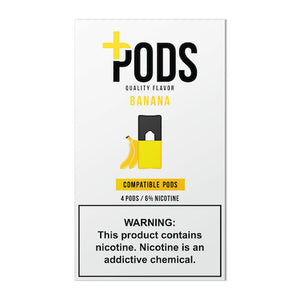 Plus Pods Banana 6% JUUL® Compatible