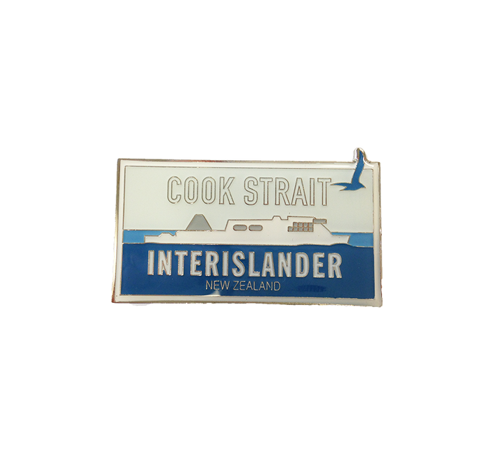 Interislander Magnetic Badge