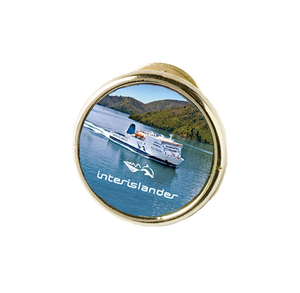 Interislander Pin Badge