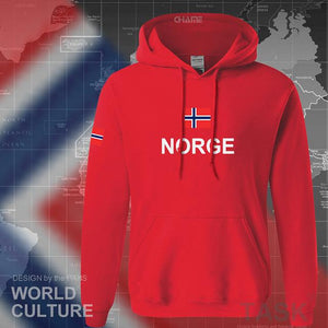 Norway hoodies men sweatshirt sweat new hip hop streetwear footballes jerseyes tracksuit nation Norwegian flag NO Norge Noreg-noashe