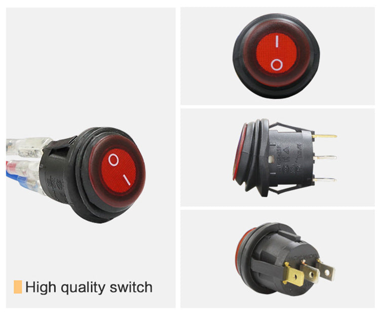 Aurora Waterproof Two Position Switch with LED Indicator