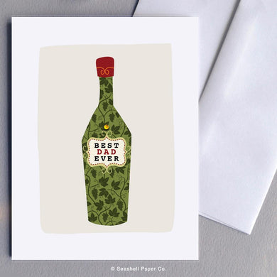 Father's Day Wine Bottle Card Wholesale (Package of 6)