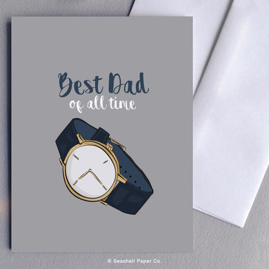 Father's Day Watch Card Wholesale (Package of 6)
