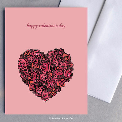 Love Valentine' s Day Card Wholesale (Package of 6)