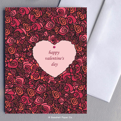 Valentine's Day Roses Card