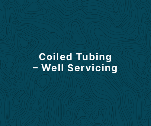 Coiled Tubing - Well Servicing Course