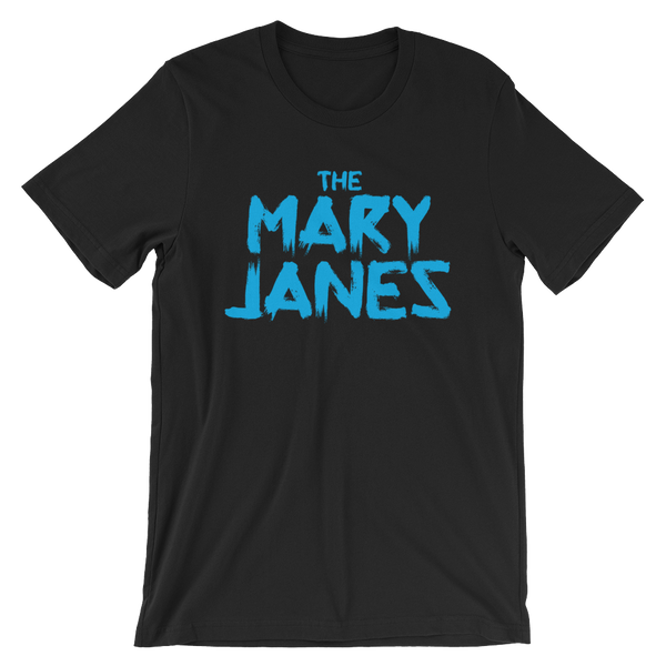The Mary Janes Logo T - Cyan
