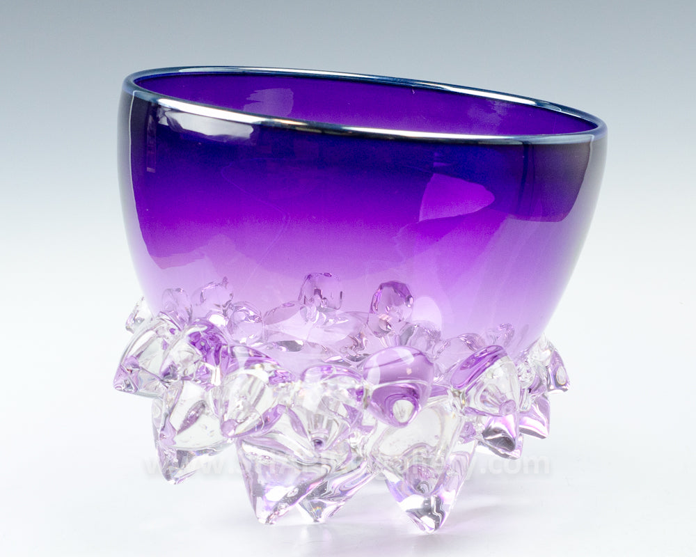 "Purple 9"" Thorn Bowl"