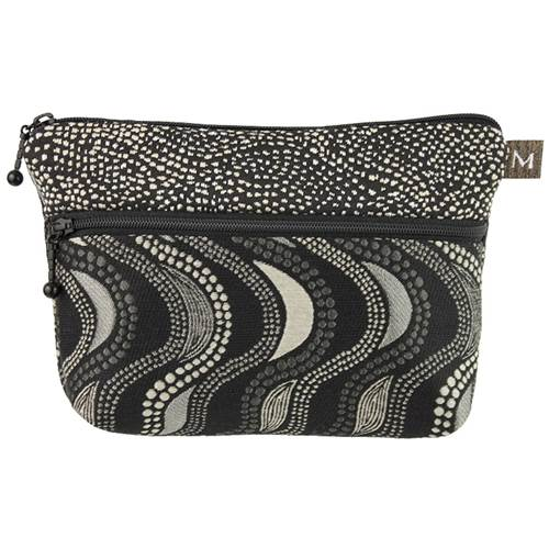 Cosmetic Clutch - Fluid Black