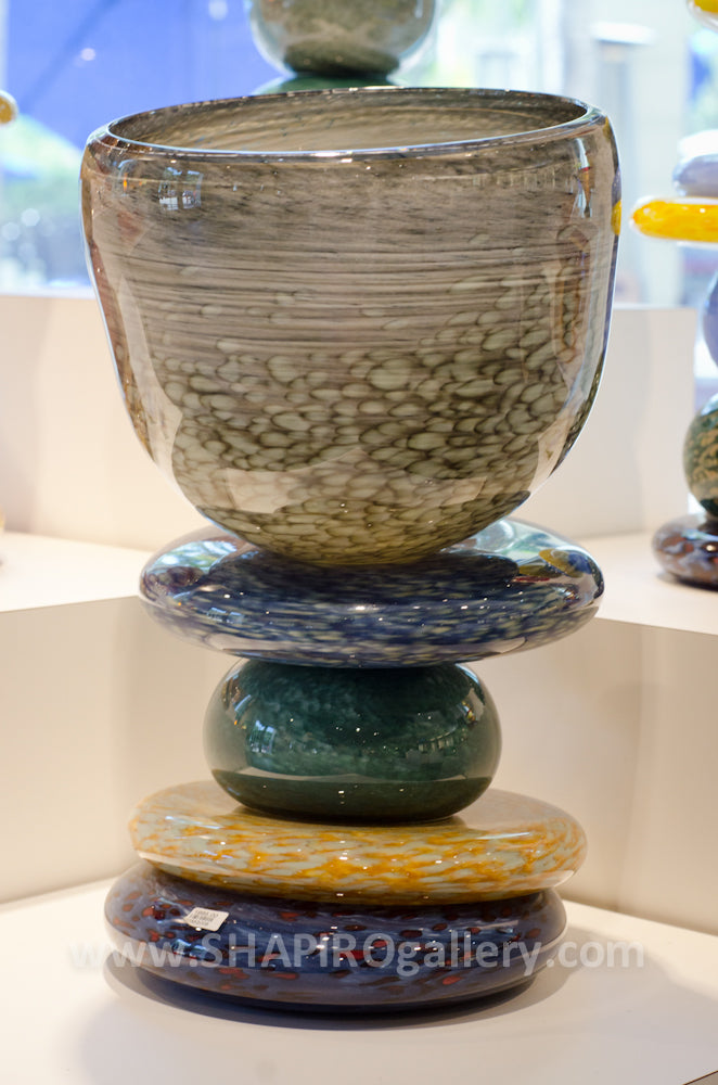 Stacked Stone Vessel