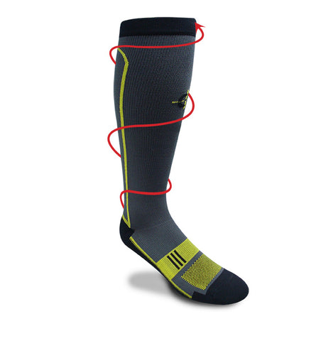 Endurance Graduated Compression Sock<br><font size=3>5310</font> - Covert Threads-A Military Sock For Every Clime & Place
